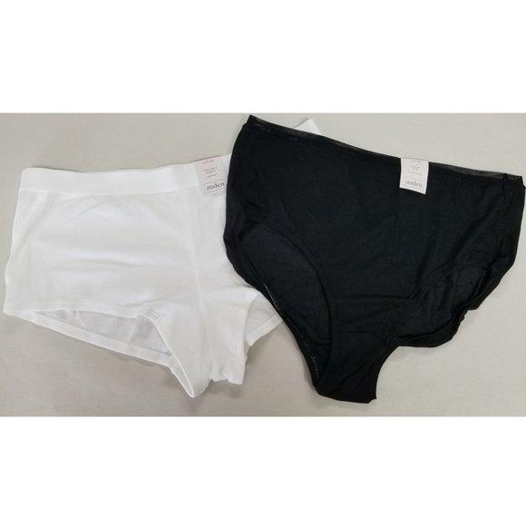 Auden Other - auden LOT OF 2 Panties // Boyshort + Briefs